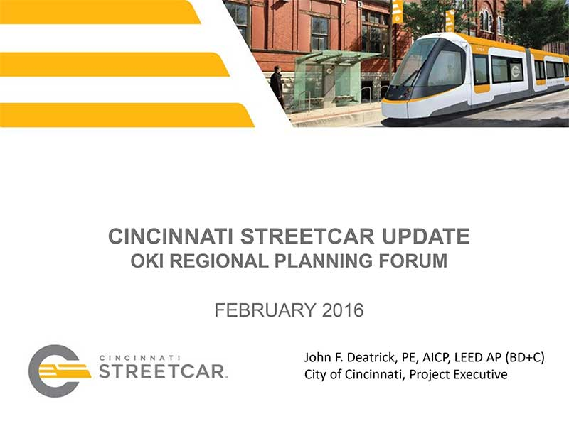 Streetcar Update